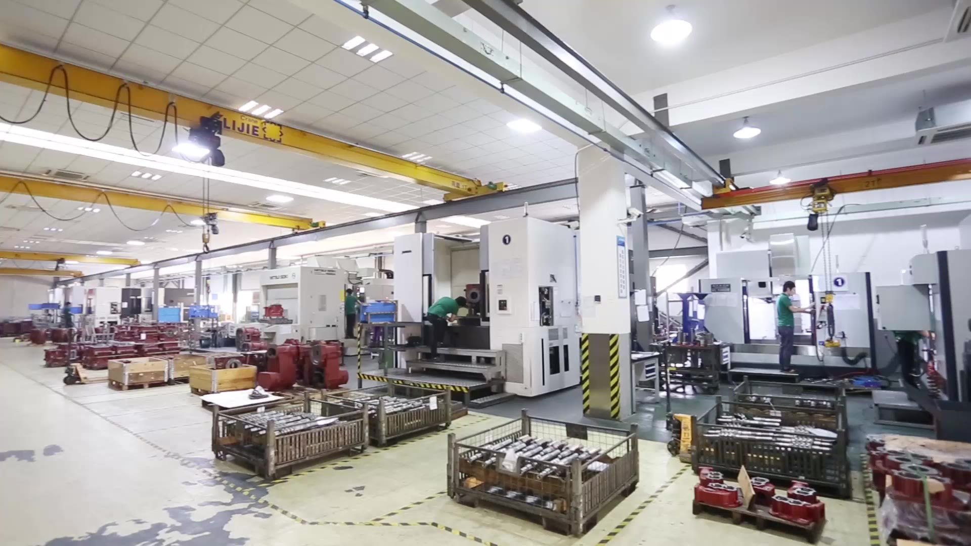 CNC Center And Grinding Machine