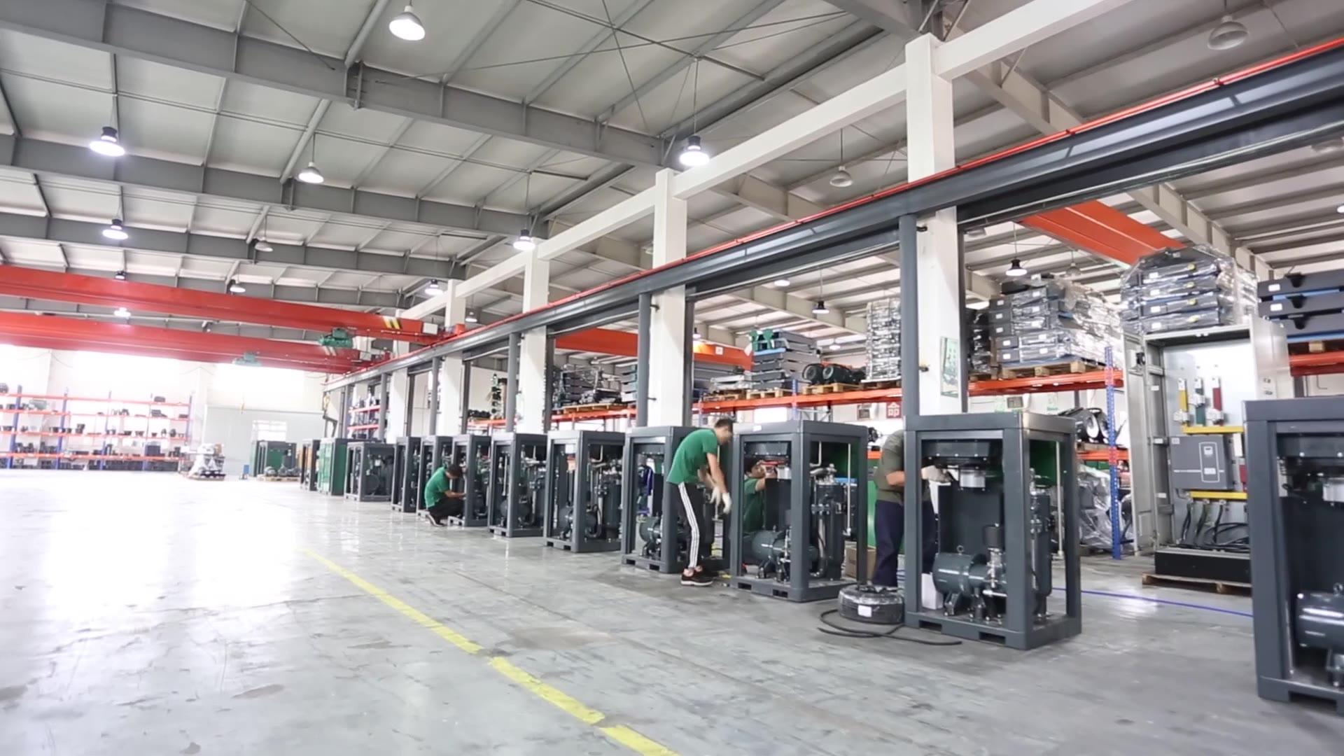 Air Compressor Assembly Workshop